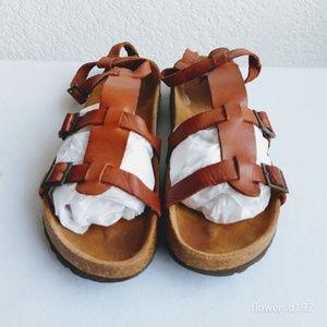 Jeffrey Campbell Leather Sandals Size 40